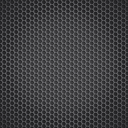 speaker grill: metal background vector  Illustration