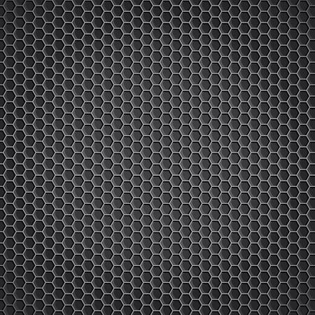 fibra de carbono: metal de fondo vector