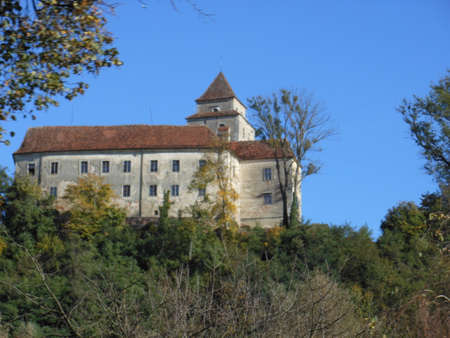 nation: An old nation fortress on the hill in Styria, Austria