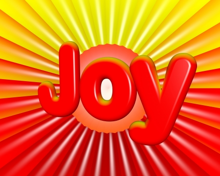 3d joy background card photo