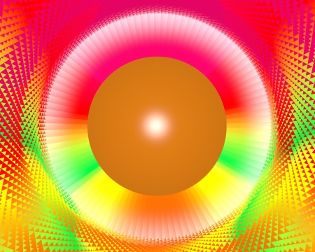 fancy colorful rainbow abstract background Stock Photo