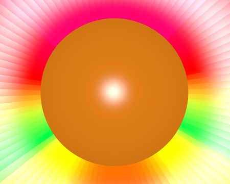 complimentary: fancy colorful rainbow abstract background Stock Photo