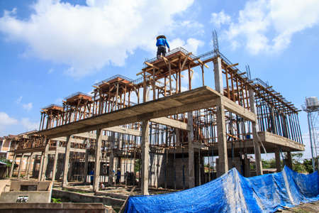 Construction of building Stock Photo - 16047975