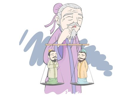 Chinese ancient idiom historical drama artwork