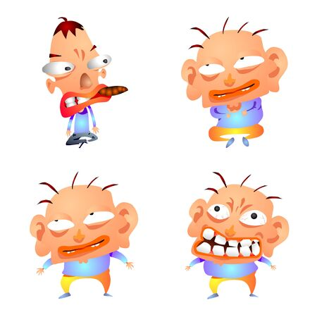 Gradation Comic Characters