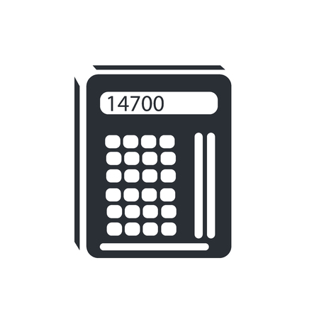 Maths Tool icon vector isolated on white background for your web and mobile app design, Maths Tool logo concept