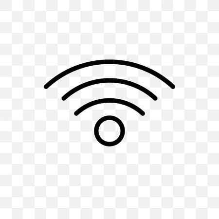 Icône de vecteur de connexion isolé sur fond transparent, concept de logo de connexion Logo