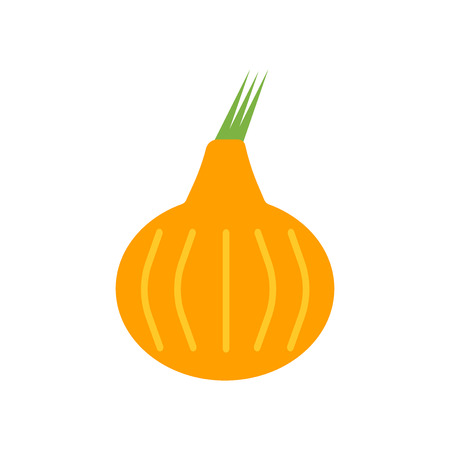 Onion icon vector isolated on white background for your web and mobile app design, Onion logo concept Illustration