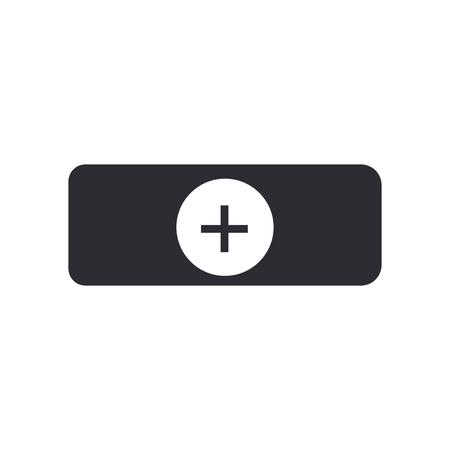 Doctor Cap Icon Vektor isoliert auf weißem Hintergrund für Ihr Web und mobile App Design, Doctor Cap Logo Konzept