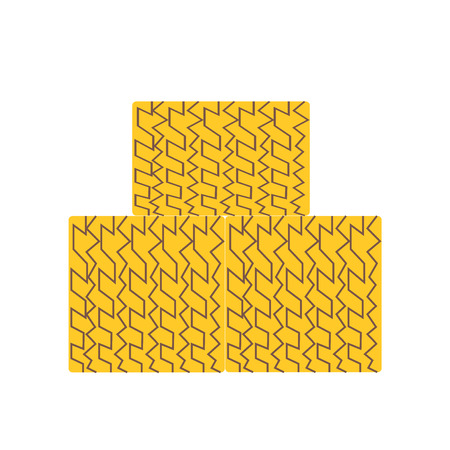 Hay bale icon vector isolated on white background for your web and mobile app design, Hay bale logo concept Illustration