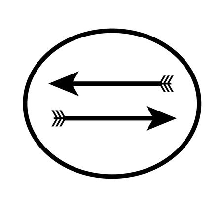 Return left arrow icon vector isolated on white background for your web and mobile app design, Return left arrow logo concept