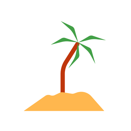 Island icon vector isolated on white background for your web and mobile app design, Island logo concept