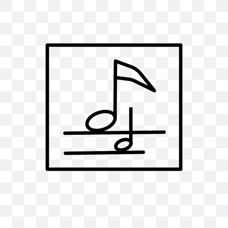 Icône de vecteur de croche isolé sur fond transparent, concept de logo de croche Logo