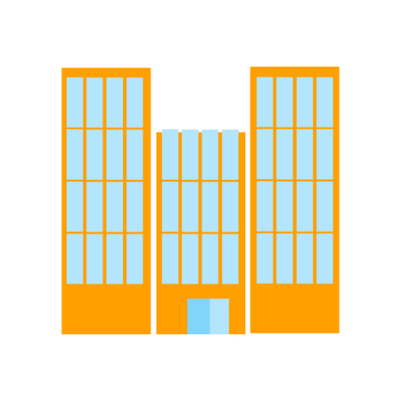 Buildings icon vector isolated on white background for your web and mobile app design, Buildings logo concept