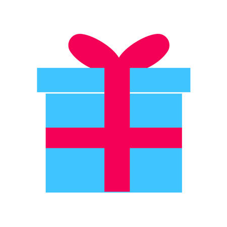 Gift icon vector isolated on white background for your web and mobile app design, Gift logo concept 일러스트