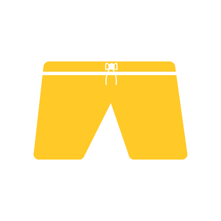 Shorts icon vector isolated on white background for your web and mobile app design, Shorts logo concept Vectores