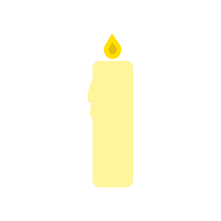 Candle icon vector isolated on white background for your web and mobile app design, Candle logo concept