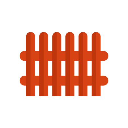 Fence icon vector isolated on white background for your web and mobile app design, Fence logo concept