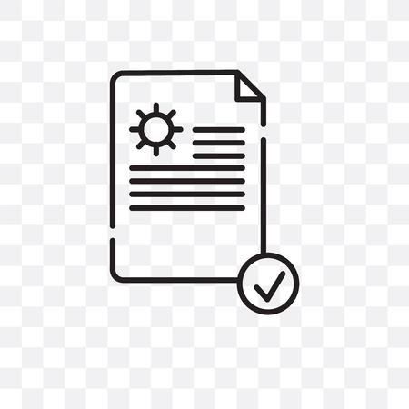 Icône de vecteur d'exécution isolé sur fond transparent, concept logo exécution