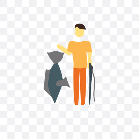Fishing vector icon isolated on transparent background, Fishing logo concept