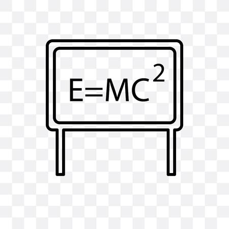 Relativity vector icon isolated on transparent background, Relativity logo concept Illustration