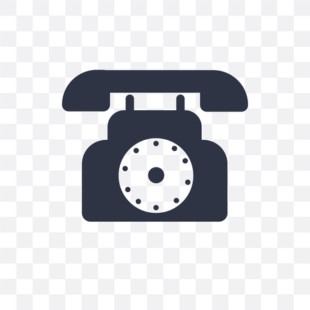 Dial vector icon isolated on transparent background, Dial concept