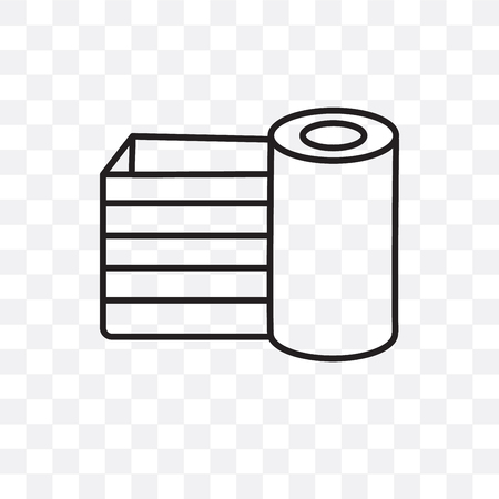 Verpackungsvektorsymbol lokalisiert auf transparentem Hintergrund, Verpackungslogokonzept