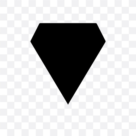 Shield vector icon isolated on transparent background, Shield  concept Ilustração