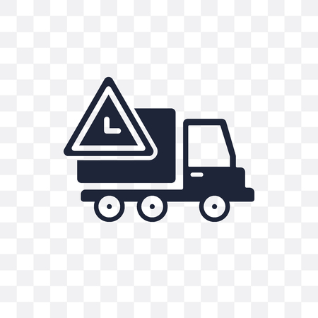 Delivery Delay transparent icon. Delivery Delay symbol design from Delivery and logistic collection.