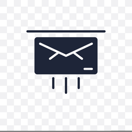 Express mail transparent icon. Express mail symbol design from Delivery and logistic collection.