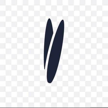 Tweezers transparent icon. Tweezers symbol design from Dentist collection. Simple element vector illustration on transparent background.