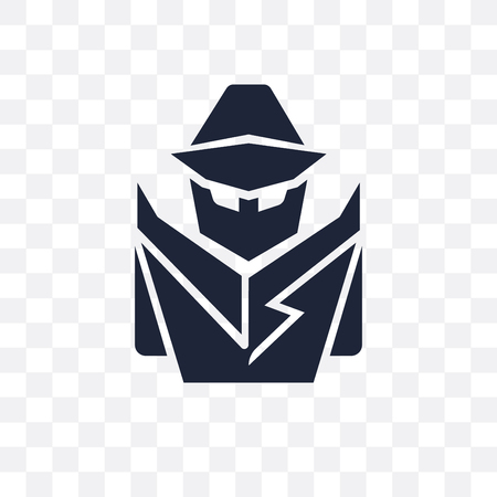 secret agent transparent icon. secret agent symbol design from Army collection.