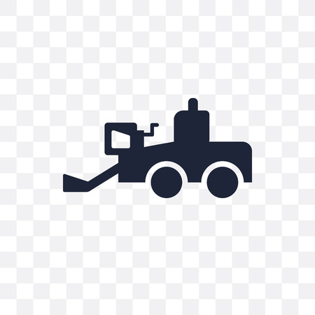 Combine harvester transparent icon. Combine harvester symbol design from Agriculture, Farming and Gardening collection. Simple element vector illustration on transparent background.