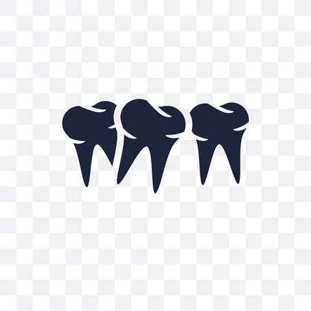Malocclusion transparent icon. Malocclusion symbol design from Dentist collection. Simple element vector illustration on transparent background.