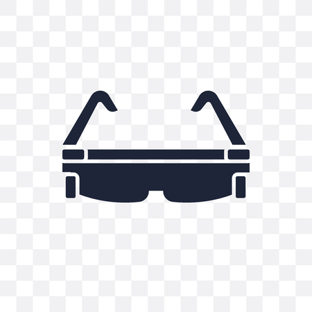 Smart glasses transparent icon. Smart glasses symbol design from Future technology collection.