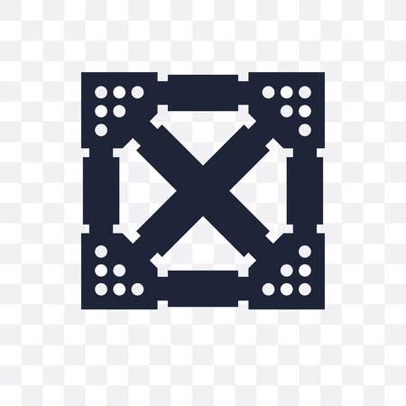 Joist transparent icon. Joist symbol design from Construction collection. Simple element vector illustration on transparent background. Illustration