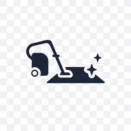 Carpet cleaning transparent icon. Carpet cleaning symbol design from Cleaning collection. Simple element vector illustration on transparent background.