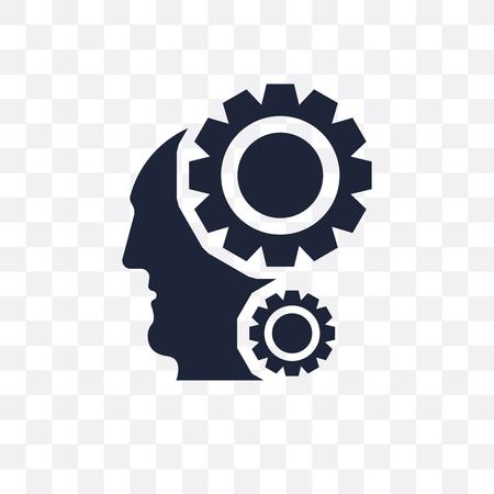 Intelligence transparent icon. Intelligence symbol design from Artificial Intellegence collection. Standard-Bild - 115369630