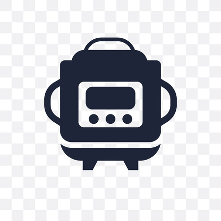 crock-pot transparent icon. crock-pot symbol design from Electronic devices collection.