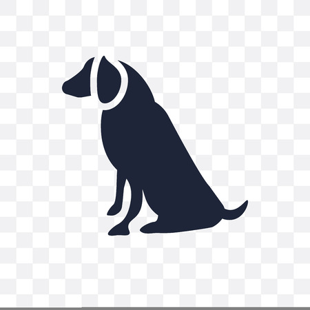 American Water Spaniel dog transparent icon. American Water Spaniel dog symbol design from Dogs collection. Simple element vector illustration on transparent background.