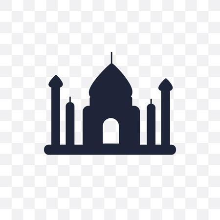 uttar pradesh transparent icon. uttar pradesh symbol design from India collection. Simple element vector illustration on transparent background.