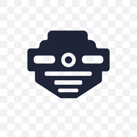 smoke detector transparent icon. smoke detector symbol design from Electronic devices collection. Ilustração