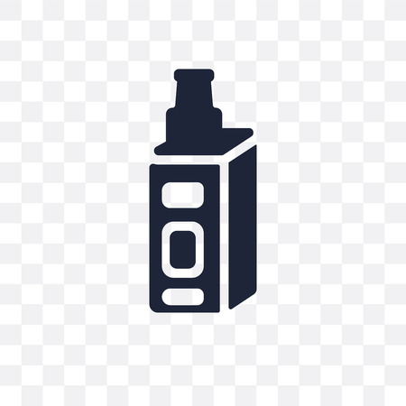 vaporizer transparent icon. vaporizer symbol design from Electronic devices collection. Illustration