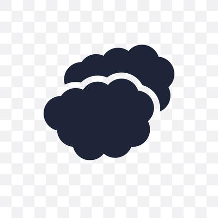 altostratus transparent icon. altostratus symbol design from Weather collection. Simple element vector illustration on transparent background. Illustration