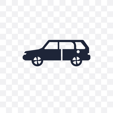 Suv transparent icon. Suv symbol design from Transportation collection.
