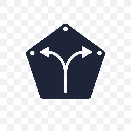 Road sign symbol design from Maps and locations collection. Simple element vector illustration on transparent background.