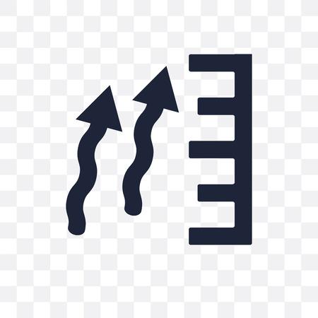atmospheric pressure transparent icon. atmospheric pressure symbol design from Weather collection. Simple element vector illustration on transparent background.