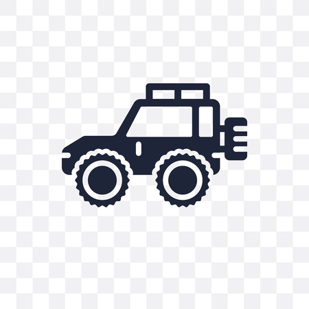 Off road transparent icon. Off road symbol design from Transportation collection. Illustration