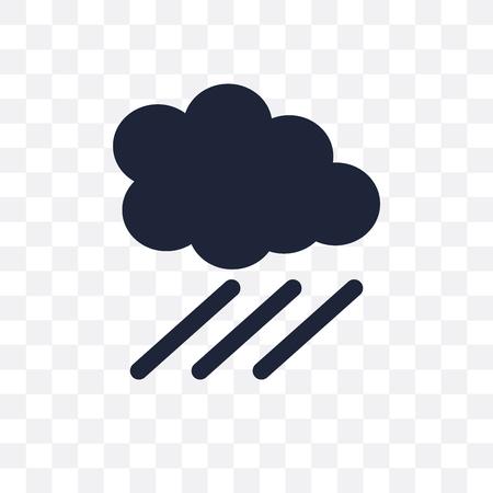 Downpour transparent icon. Downpour symbol design from Weather collection. Simple element vector illustration on transparent background.
