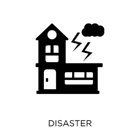 Disaster icon. Disaster symbol design from coverage collection.